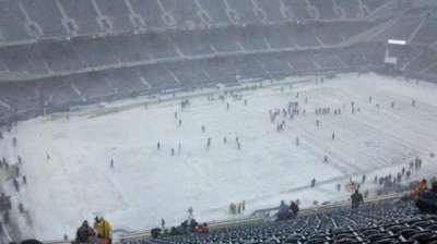 Soldier Field, section: 442, row: 32, seat: 1