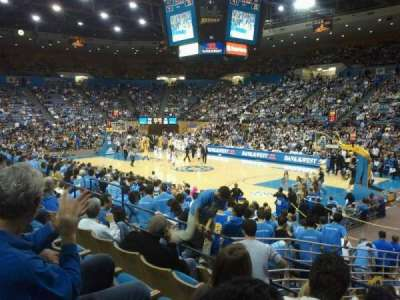 Pauley Pavilion, section: 112, row: 4