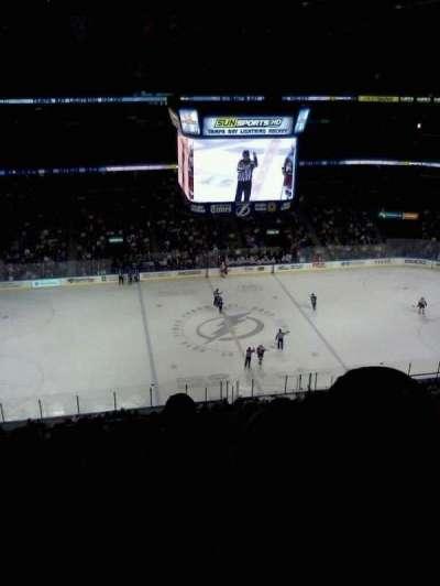 Amalie Arena, section: 317, row: K, seat: 10