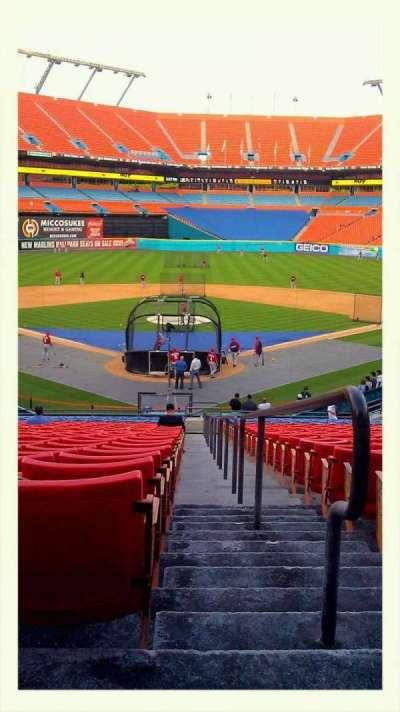 Hard Rock Stadium, section: 149, row: 27, seat: 1