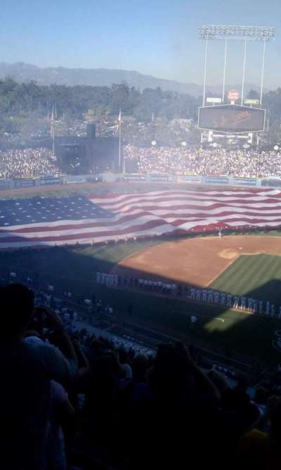 DODGER STADIUM section 13RS