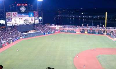 AT&T Park, section: 325, row: 14