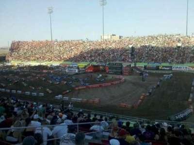 Sam Boyd Stadium, section: 123, row: 20, seat: 20