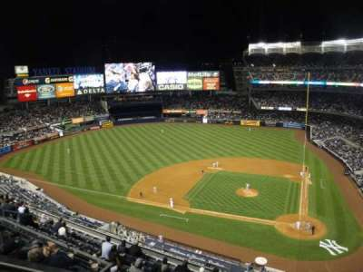 Yankee Stadium, section: 422, row: 1, seat: 21