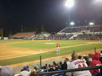 LoanMart Field, section: FB16, row: J, seat: 2