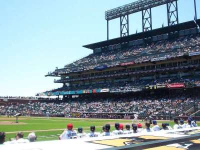 AT&T Park, section: 123, row: B