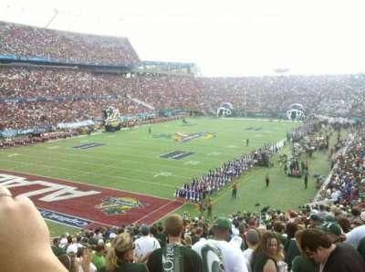 Camping World Stadium, section: 237, row: F, seat: 7