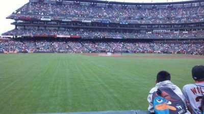 AT&T Park, section: 140, row: 1, seat: 8