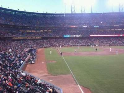 AT&T Park section 150