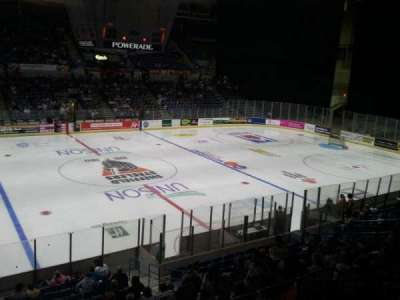 Sheffield Arena, section: 217, row: f, seat: 12