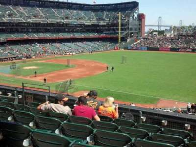 AT&T Park, section: 202, row: f, seat: 2