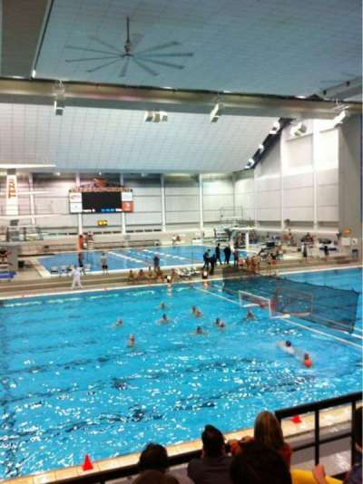 Jamail Texas Swimming Center, row: 5, seat: 25