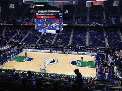 Greensboro Coliseum, section: 212, row: L, seat: 14