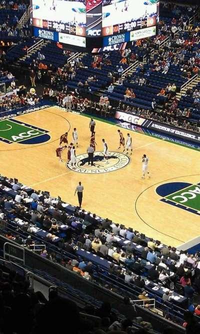Greensboro Coliseum, section: 235