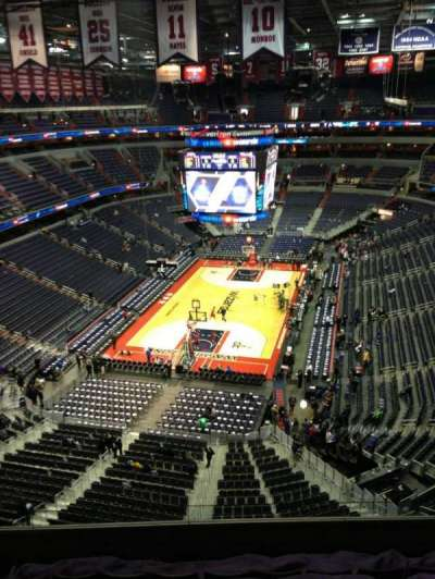 Capital One Arena, section: 427, row: G, seat: 1