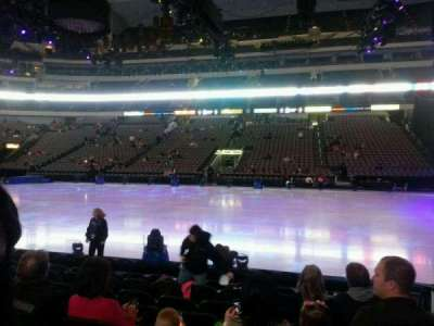 American Airlines Center, section: 106, row: h, seat: 2