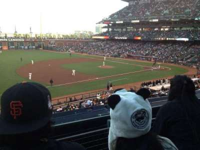 AT&T Park, section: 226, row: B, seat: 9