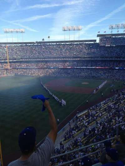 DODGER STADIUM section 51RS