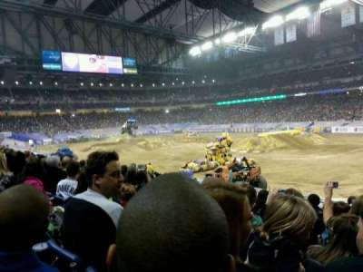 Ford Field, section: 111, row: 22, seat: 16