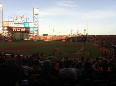 AT&T Park, section: 119, row: 31, seat: 8
