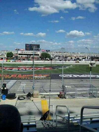 Texas Motor Speedway, section: 101, row: 9, seat: 20