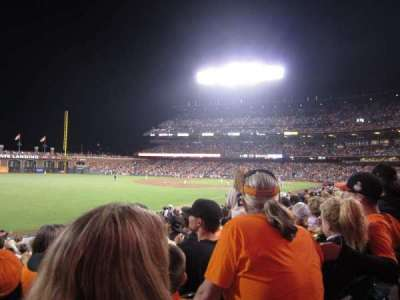 AT&T Park section 132