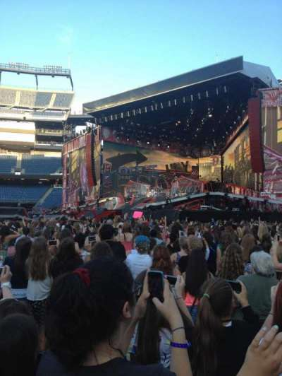 Gillette Stadium section A2
