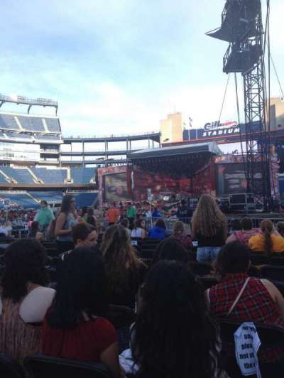 Gillette Stadium section C1