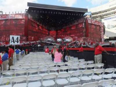 Soldier Field, section: B4, row: 4, seat: 4
