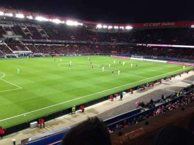 Parc des princes, section: 303, row: 2, seat: 75