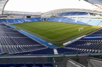 American Express Community Stadium, section: S2H, row: D