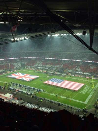 Wembley Stadium, section: 522, row: 35
