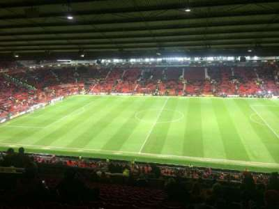 old Trafford, section: Sir Alex Ferguson Stand, row: 28, seat: 93