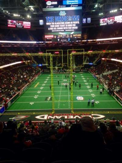 Quicken Loans Arena, section: 117, row: 27, seat: 11