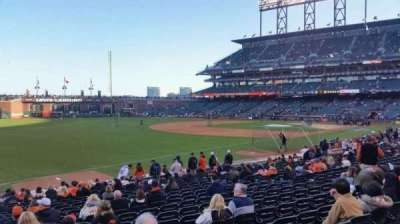 AT&T Park section 129