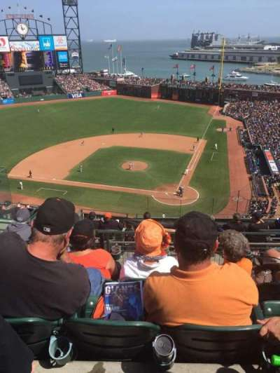 AT&T Park, section: VR, row: 5, seat: 9