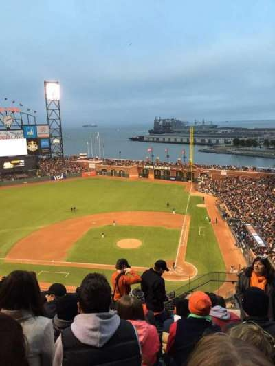 AT&T Park, section: 320, row: 9, seat: 2