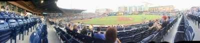Durham Bulls Athletic Park, section: 210, row: Q, seat: 7