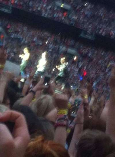 Wembley Stadium, section: Yellow zone, row: Floor, seat: Standing