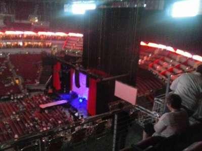 KFC Yum! Center, section: 308, row: J, seat: 11