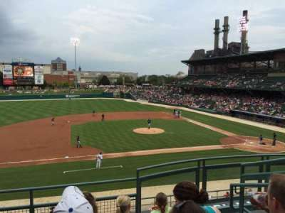 Victory field section 205 home of indianapolis indians