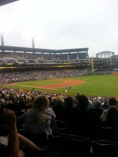 PNC Park, section: 103, row: cc, seat: 9