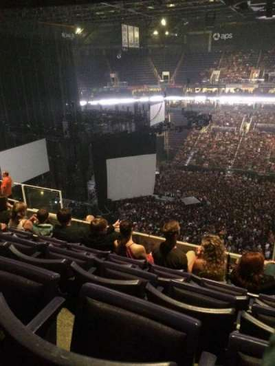 Talking Stick Resort Arena, section: 219, row: 10, seat: 4