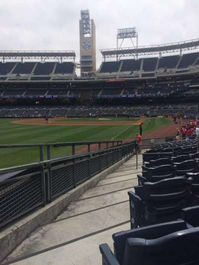 PETCO Park, section: 124, row: 18, seat: 10
