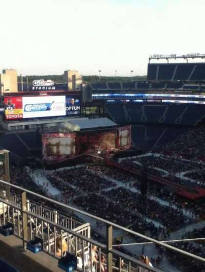 Gillette Stadium, section: 304, row: 10, seat: 10