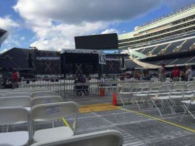 Soldier Field, section: D6, row: 7, seat: 1
