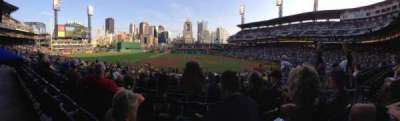 PNC Park, section: 123, row: T, seat: 3