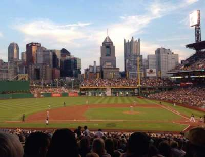 PNC Park, section: 121, row: EE, seat: 12
