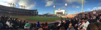 AT&T Park, section: 103, row: 5, seat: 6