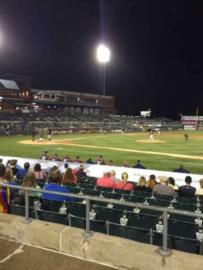 TD Bank Ballpark, section: 213, row: K, seat: 15